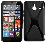 tomaxx Microsoft Lumia 640 XL Hülle x-TPU Tasche Schutzhülle schwarz