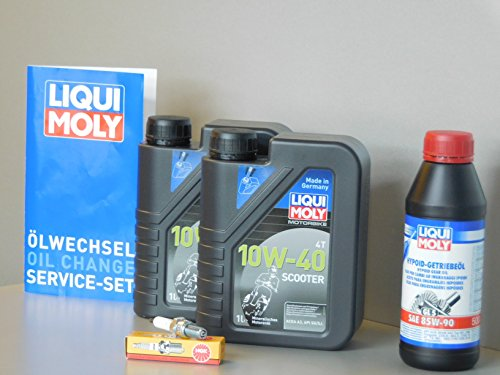 Kit d'entretien scooter SYM Cruissym 300 inspection huile bougie d'allumage changement d'huile