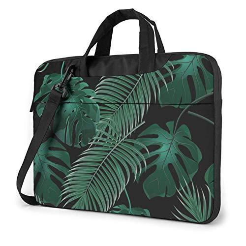 Bananas Leaf Green Laptop Bag Messenger Bag Briefcase Satchel Shoulder Crossbody Sling Working Bag