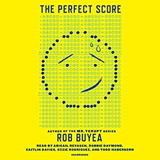The Perfect Score audiobook cover art