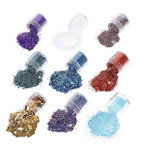 Brillos Cuerpo 10ml Maquillaje Glitter Cara Ojos Maquillaje