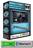 Jaguar S-Type DAB Radio, JVC Autoradio stéréo lecteur CD USB AUX, mains libres...