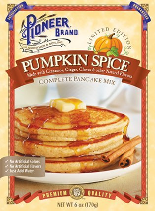 Pioneer Brand Limited Edition Pumpkin Spice