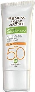 Protetor Solar Renew Advance Matte Antioleosidade Anti-dade Fps50