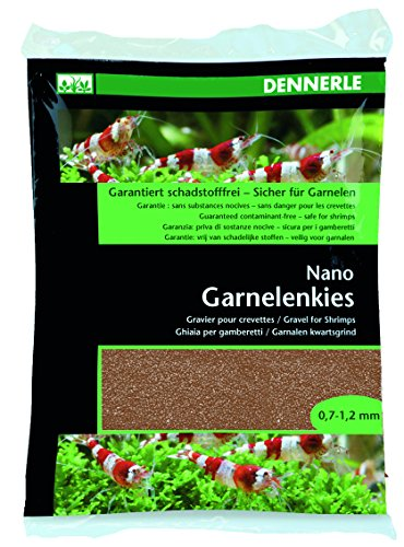 Dennerle Nano gravier crevettes, Brun-Borneo (0,5 à 1,2 mm)