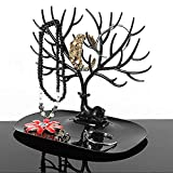 Hahuha Creative Jewelry Organizer Display Ohrring Halskette Halter Ring Display Stand