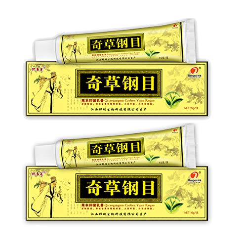 2PC Natural Herbal Cream,Body Cream for Dry Skin,or Eczema, Dermatitis, Inflammation and Rashes,Itch Relief Chinese Cream.