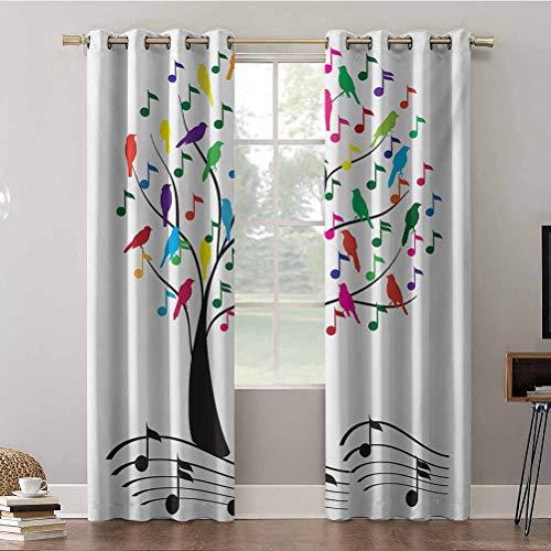 Aishare Store - Cortinas para ventanas (52 x 84 x 84 paneles),...