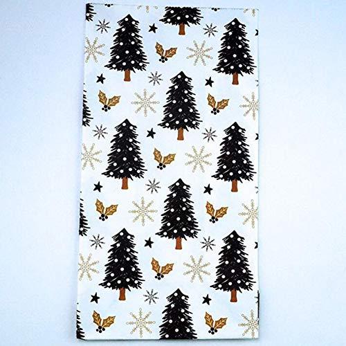 Yiwa opbergtas, bedrukt, serie Kerstmis, knutselen, voor snoepjes, cadeau, pinguïn