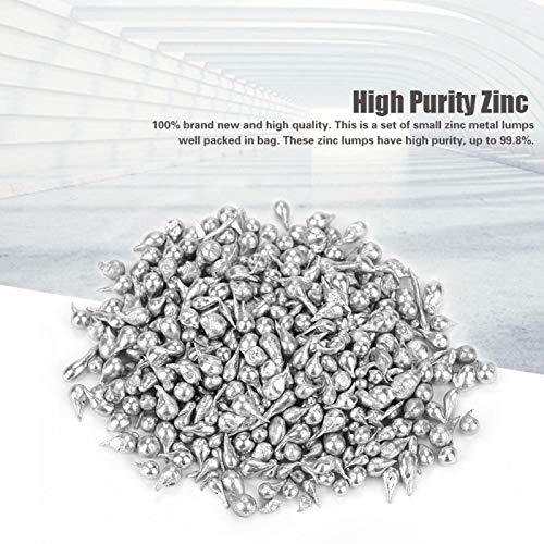 Hochwertige, Zn, Fb, Fe, AS, Zinkklumpen, 100 g, Reinheit 99,8%, im Beutel, zur Herstellung für Metallzubehör