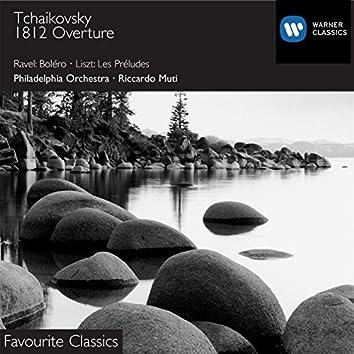 Ravel:Bolero/Tchaikovsky:1812 Overture/Liszt:Les Preludes