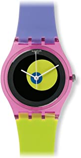 Swatch Women's GP143 Circle In A Circle Year-Round Analog Quartz Multicolour Watch