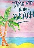 Cartel vintage de metal para pared, diseño de bandera de palmeras, luna de miel, verano de Vacción, cartel de pared para el hogar, cocina, bar, bar, bar, cafetería, decoración de 30 x 20 cm