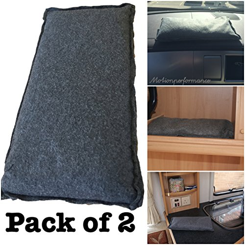 2x MP Essentials gran caravana Van coche deshumidificador claro parabrisas humedad humedad Absorber bolsas