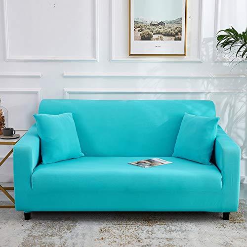 ASCV Fundas de sofá elásticas para Sala de Estar Fundas de sofá Fundas de sofá sofá elástico Toalla loveseat A5 3 plazas