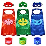 Superhero Capes with Masks Dress up Costumes Festival Christmas Halloween Cosplay Birthday Party Gift For Kids