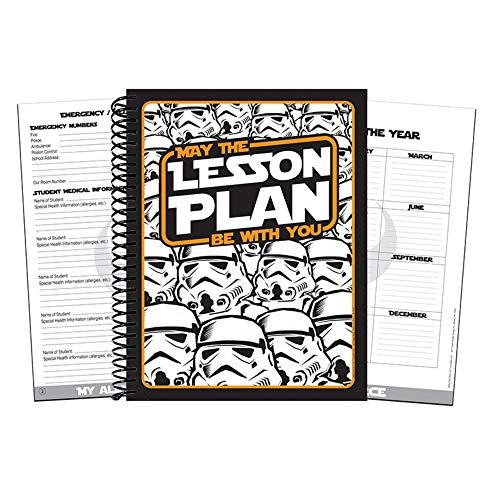Eureka Teacher Supplies Star Wars Lesson Plan Book