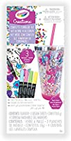 Crayola Creations Confetti Tumbler Kit, Gift for Girls and Tweens, Ages 6,7, 8 and Up, Holiday Toys, Stocking , Arts and...