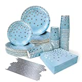 Ottin Blue and Silver Party Supp...