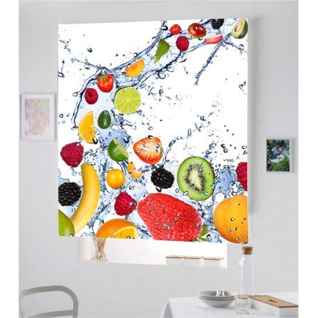 Estor Iroa Digital Cocina Fruta 002 ¡ESTORES ENROLLABLES TRANSLUCIDO O Screen! (160X170,...