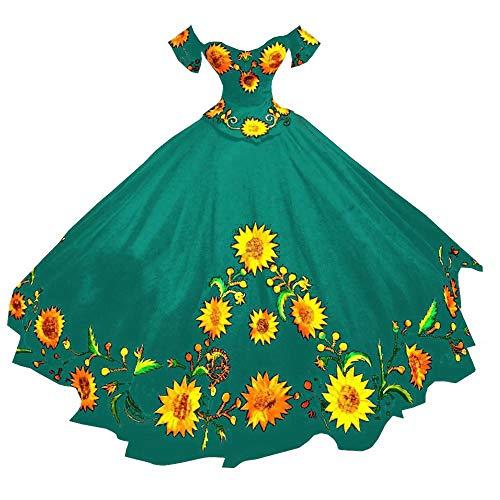 Sunflower Ball Gown