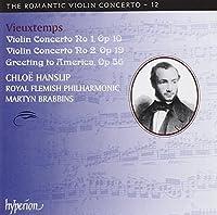 Violin Concertos Nos.1 & 2/Greeting to America-the