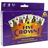 Tawohi Versión en inglés Crowns Card Game, un Juego imprescindible para Las reuniones Familiares, Juegos de Cartas para jóvenes Adultos, Juegos de Mesa Divertidos