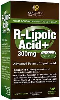 Genceutic Naturals, Nat R Lipoic Acid 300Mg 60 Cap Ea 1
