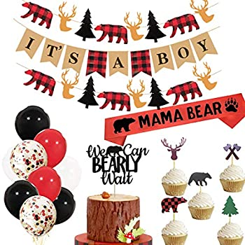 Best buffalo plaid baby shower Reviews