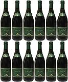 Lambrusco rosso dolce Gualtieri Dell`Emilia IGT mit Schraubverschluss (12 X 0,75 L) - Vino Frizzante - Roter Süßer Perlwein 7,5% Vol. aus Italien