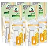 Frosch Oase Orangenblüte Nachfüller 90ml - mit natürlichen Ölen (5er Pack)
