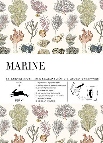 Marine: Gift & Creative Paper Book Vol. 89 (Gift & creative papers, 89)