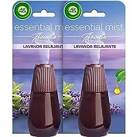Air Wick Essential Mist Duplo Ambientador fragancia lavanda - 2 recambios