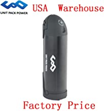 Hot Sale! Water Bottle E-Bike Battery Lithium 36V 10AH with Charger for 500W Motor (USA Warehouse) (36V 10AH-Black)