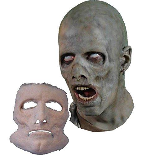 fx the halloween masks Jerky Undead FX Mask Foam Latex Prosthetic Professional Grade Theater Appliance