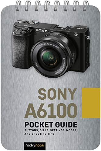Sony A6100: Pocket Guide: Buttons, Dials, Settings, Modes, and Shooting Tips