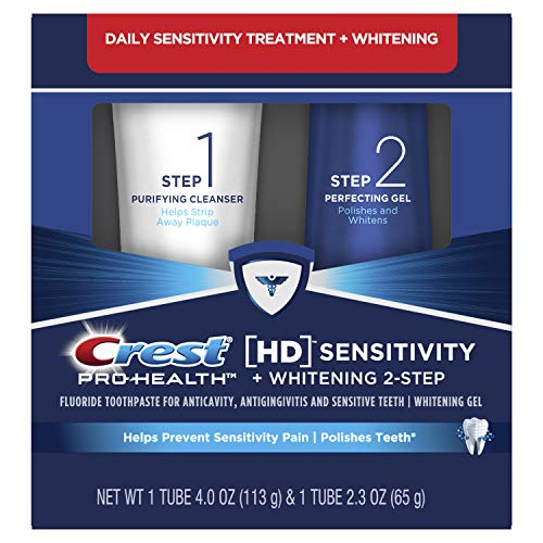 Crest Pro-Health HD Toothpaste, Teeth Whitening and...