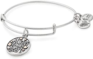 Alex and Ani Women's Always in My Heart Two-Tone Bangle