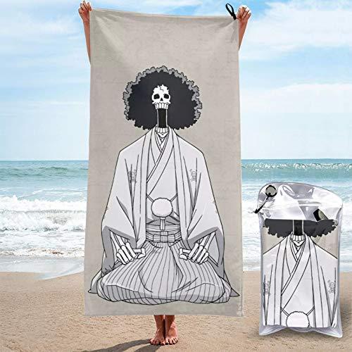 Toalla de secado rápido, perfecta para deportes, viajes, playa, toalla grande, suave, de secado rápido, apta para camping, gimnasio, playa, natación, llevar bolsa de viaje de 31,5 x 63 x 160 cm
