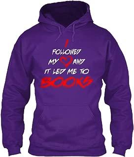 teespring Men's I Followed My Love. - Sweatshirt - Gildan 8Oz Heavy Blend Hoodie