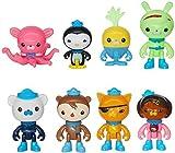 Octonauts Octo-Crew 8 Figure Pack-2' - 3' Peso Kwazii Captain Barnacles