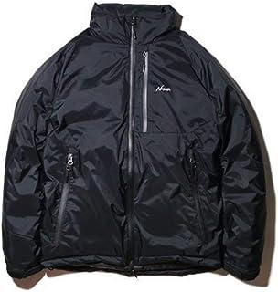 オーロラスタンドカラーダウンジャケット ブラック Mサイズ AURORA STAND COLLAR DOWN JACKET(Men) N1asBKF2