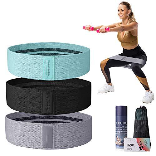Fay Fitness-Bänder Widerstand, Yoga Elastikband Zugbands Fitnessband Yoga Zugring Fitness Liefert Elastischen Ring 3 Teilig,M