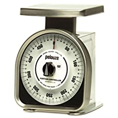 "500 gram capacity 2 gram increments Mechanical rotating dial Y-line scale Rust-proof platform 1 year warranty Platform 6"" x 4 5/8"" White len"