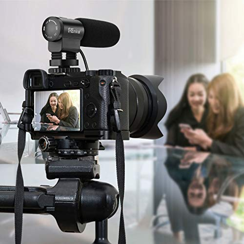 Kamera Mikrofon, Emiral Interview Mikrofon, Shotgun Video Mikrofon für DSLR-Kamera/DV-Camcorder