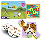 Key benefits :- (1) unlike most other toys which are one time use & throw with limited learning value, this kit provides a lot of learning and is loved for a long time (2) designed by child-development experts to ensure optimal brain development of c...