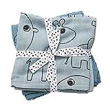 Done by deer 30692 - Pack 2 muselinas elefante, color azul