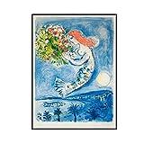ADNHWAN Marc Chagall 《Frankreich Nizza Soleil Vintage