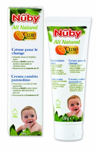 Nuby All Natural - Crema protectora para heridas (1 x 120 ml)