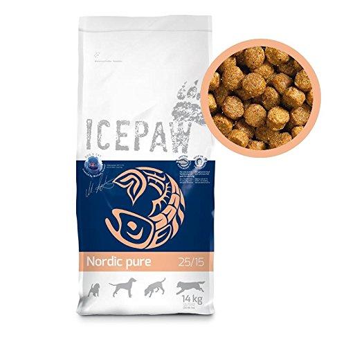 ICEPAW Nordic Pure Trockenfutter für Hunde, 1x14kg Sack